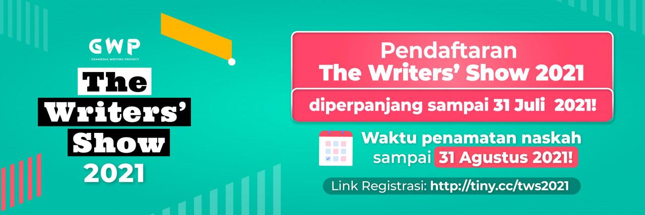 Siap Mendaftar The Writer's Show GWP 2021? Simak Dulu Informasi Ini!